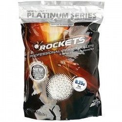 Rockets Platinum Series 0.25g BB pellets