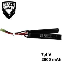2000mah 7.4V 30C lipo battery nunchuck type with small tamiya