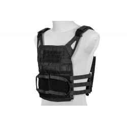 Rush 2.0 Plate Carrier Tactical Vest - Black