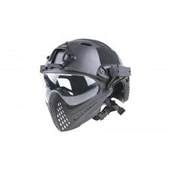 FAST PJ Piloteer Helmet Replica - Black