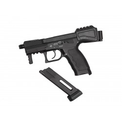 Pistol, GBB, CO2, MS, B&T USW A1, BLK