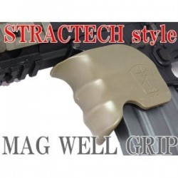 Polymer grip to the magazine well Coyotte
